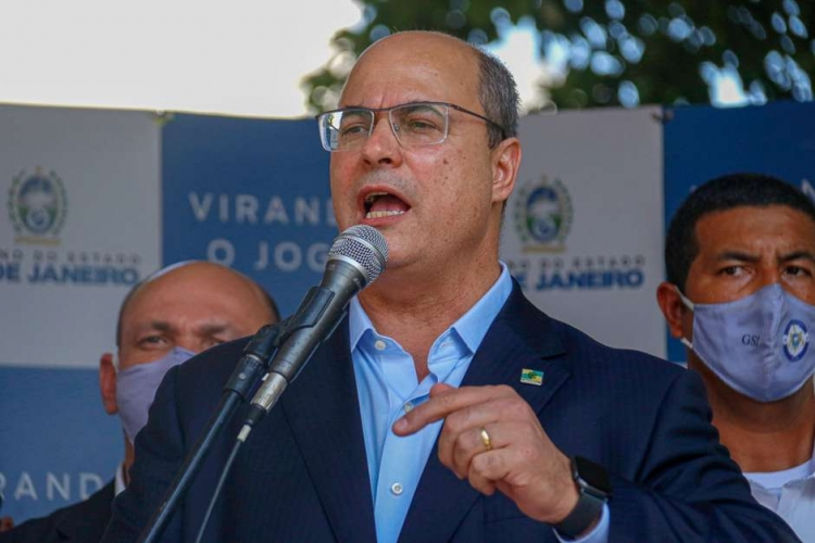 STJ afasta Wilson Witzel do cargo de governador do RJ
